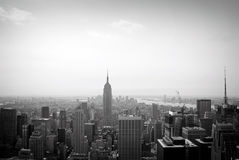 Top of the rock, New York City Royalty Free Stock Image