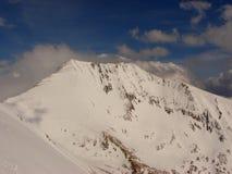 top of romania-Moldoveanu peak Royalty Free Stock Images