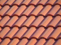 Top Roof. Tiled Top Roof Royalty Free Stock Photos