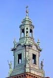 Top of he Royal Archcathedral Basilica, Krakow, Poland Stock Photo