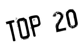 Top 20 rubber stamp Royalty Free Stock Image