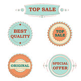 Сolorful stickers for sale Royalty Free Stock Photo