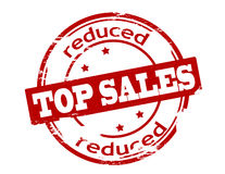 Top sales reduced Royalty Free Stock Images