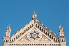 Top of santa croce florence Stock Photography
