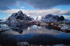 Moskenes, lofoten islands, norway stock images