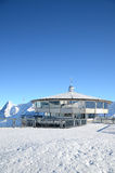 Top of Schilthorn mountain, Switzerland Royalty Free Stock Photos