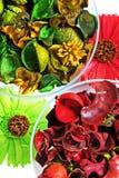 Top secado de las flores de la visión Foto de archivo libre de regalías