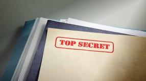 Top secret Fotografie Stock