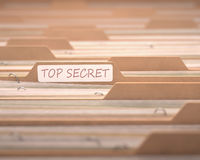 Top-secret Fotografia Stock