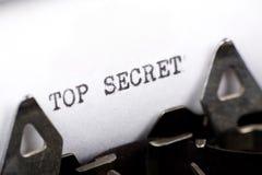 Top Secret royalty free stock photos