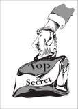 Top secret Images libres de droits