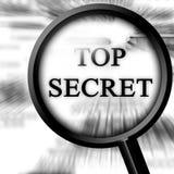 Top secret illustration libre de droits