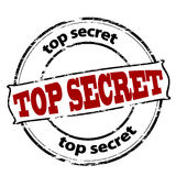 Top secret illustration stock
