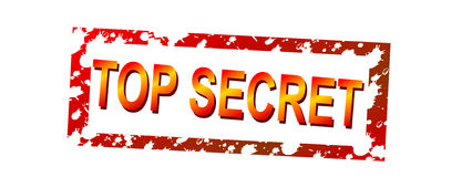 top secret Zdjęcie Stock