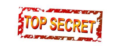 Top secret. Ink stamp top secret Stock Photo