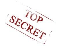 Top secret illustration stock