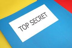 top secret Zdjęcia Stock