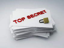 Top secret archive Stock Images