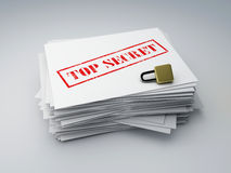Top secret archive Royalty Free Stock Image