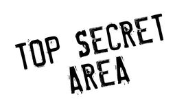 Top Secret Area rubber stamp Royalty Free Stock Photography