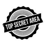 Top Secret Area rubber stamp Stock Photo
