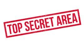 Top Secret Area rubber stamp Stock Image