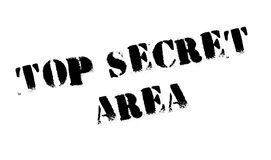 Top Secret Area rubber stamp Royalty Free Stock Images