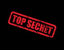 Top secret background Stock Photos