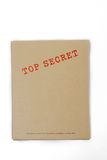 Top secret box. A top secret box. Don't dare to open Royalty Free Stock Photography