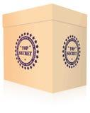 Top secret box Royalty Free Stock Photos