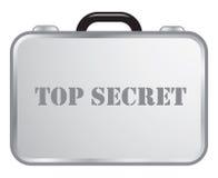 Top secret briefcase stock illustration