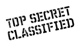Top Secret Classified rubber stamp Stock Images