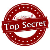 Top secret confidentiel illustration libre de droits