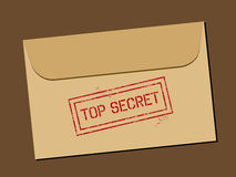 Top secret document Stock Image