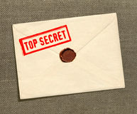 Top secret envelope Stock Photo