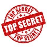 Top secret grunge vector stamp Royalty Free Stock Image