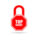 Top secret icon Royalty Free Stock Photos