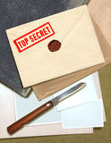 Top secret information Stock Photos