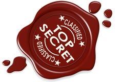 Top secret label seal Royalty Free Stock Photo