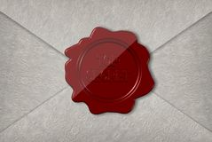 Top secret letter Royalty Free Stock Images