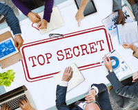 Top Secret Privacy Confidential Classified Stamp Concept Royalty Free Stock Image
