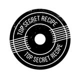 Top Secret Recipe rubber stamp Royalty Free Stock Photo