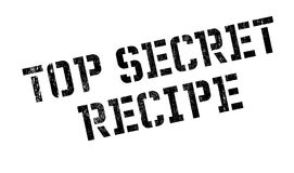 Top Secret Recipe rubber stamp Royalty Free Stock Image