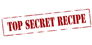 Top secret recipe Royalty Free Stock Photography