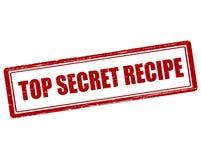 Top secret recipe Stock Photos