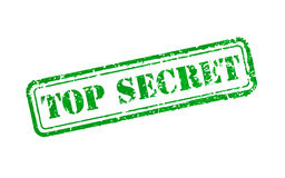 Top secret rubber stamp Royalty Free Stock Photography