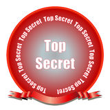 Top Secret Seal Royalty Free Stock Images