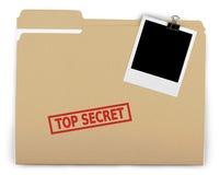 Top Secret. Secrecy File Confidential Paper Document Clip Stock Photos