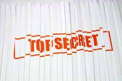 Top Secret shredded paper Stock Images