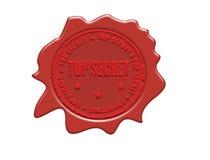 Top secret stamp Stock Image